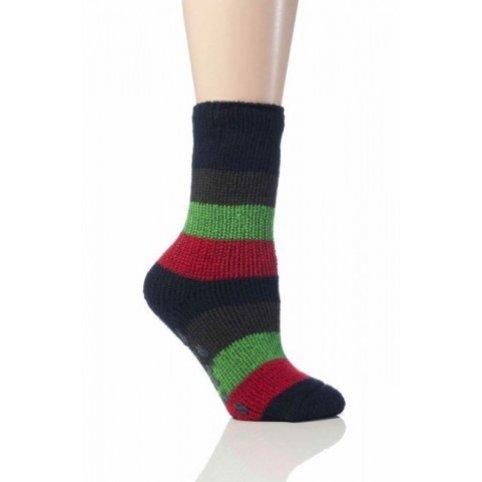 Heat Holders termo ponožky detské protišmykové,tmavo modré