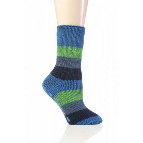 Heat Holders termo ponožky detské protišmykové, modré
