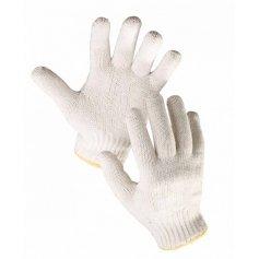 Pletené bezšvové rukavice AUK
