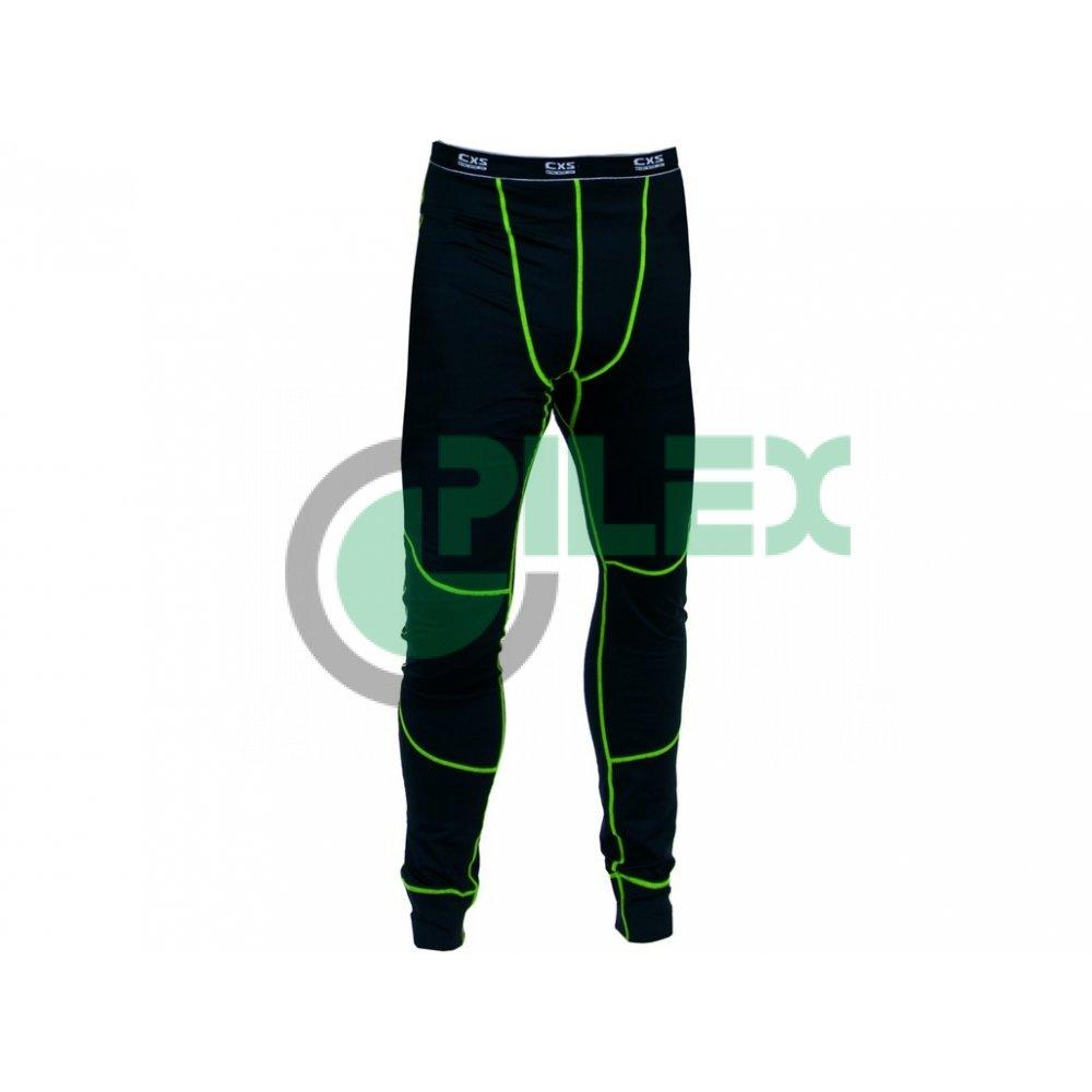 43c15b6aa Pánske funkčné spodky REWARD, čierno-zelené