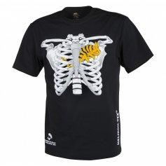 Krátke tričko chameleón na hrudníku Helikon-Tex, čierne