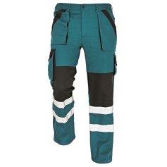Montérkové nohavice MAX REFLEX, zeleno-čierne