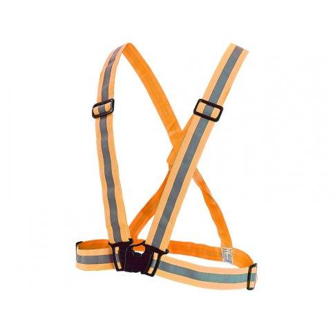 Reflexný elastický KRÍŽ, oranžový