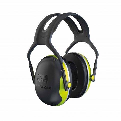 Mušľové chrániče sluchu 3M PELTOR X4A SNR s plochou mušľou