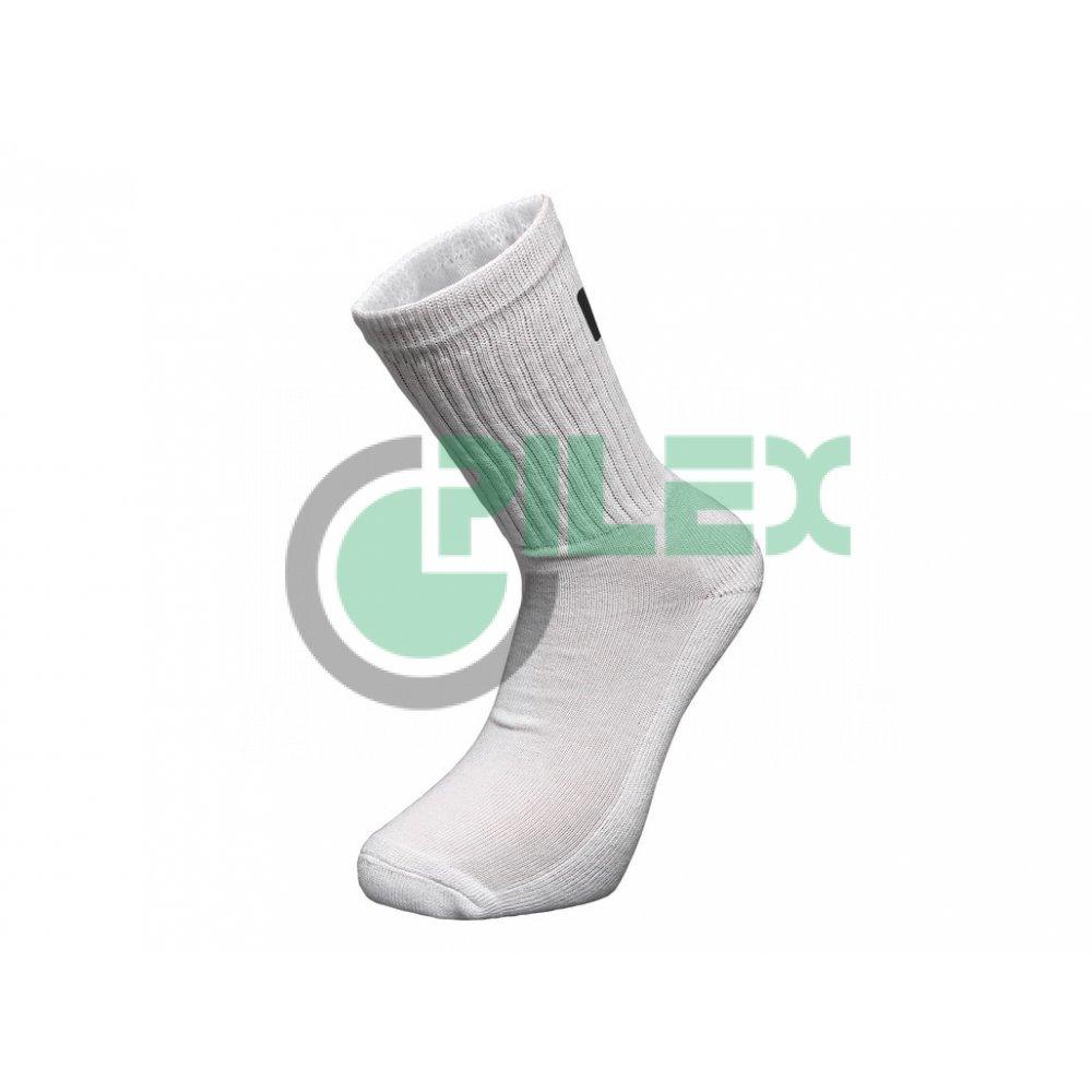 1dfa1d2c5b650 Športové ponožky ŠPORT, biele