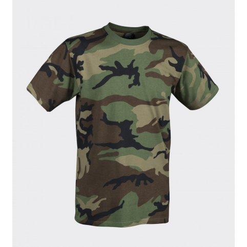 Krátke tričko US Woodland, Helikon-Tex