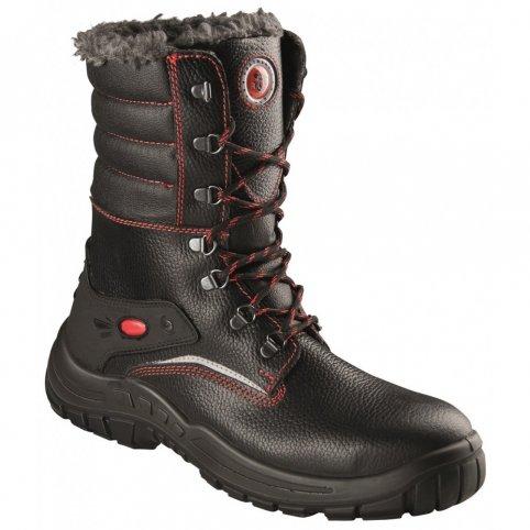 Poloholeňová obuv s oceľovou špicou HIBERNUS S3, zimná