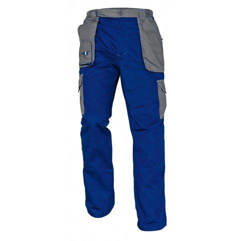 Monterkové nohavice MAX EVOLUTION, modro-sivé