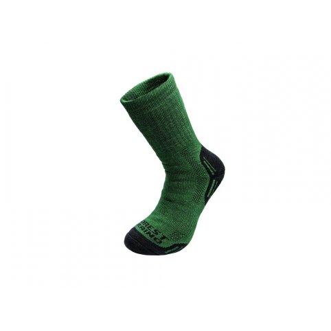 Zimné ponožky FOREST, zelené
