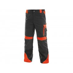 Pánske nohavice SIRIUS BRIGHTON, sivo-červené
