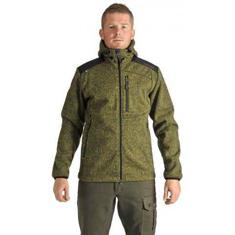 Pánska bunda GERLACH s kapucňou, zelená