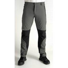 Pánske nohavice SALATÍN, sivo-čierne
