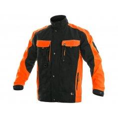 Pánska blúza SIRIUS BRIGHTON, čierno-oranžová
