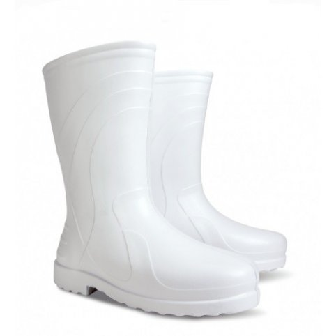 Zateplené nízke čižmy LUNA D, biele