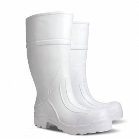 Zateplené vysoké čižmy PREDATOR XL, biele