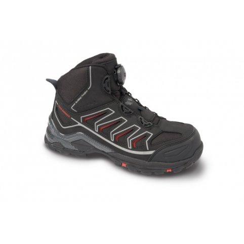 Členková obuv s plastovou špicou OMAHA S1P