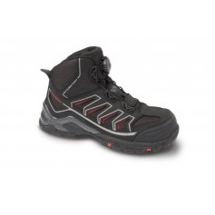 Členková obuv s plastovou špicou OMAHA BOA S1P