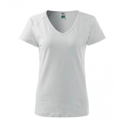 Dámske tričko s krátkym rukávom DREAM, biele