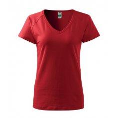 Dámske tričko s krátkym rukávom DREAM, červené