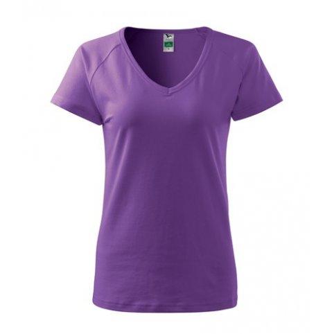 Dámske tričko s krátkym rukávom DREAM, fialové