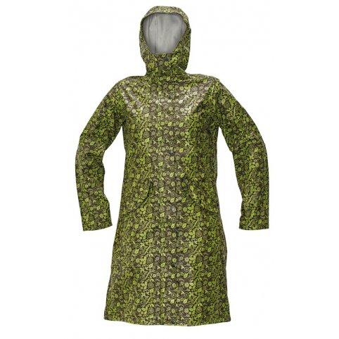Dámsky plášť YOWIE, hnedo-zelený