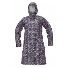 Dámsky plášť YOWIE, tm.modro-fialový