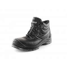 Zimná členková obuv s oceľovou špicou SAFETY STEEL NICKEL S3