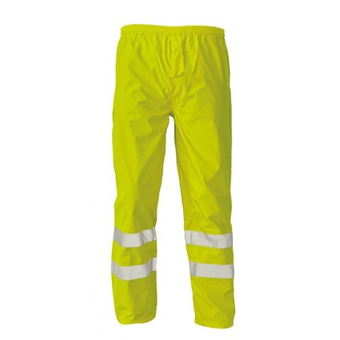 Nepremokavé nohavice GORDON s reflexnými pruhmi, žlté