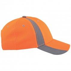 Reflexná šiltovka TWINKLE, oranžová