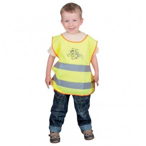 Detská reflexná vesta ALEX JUNIOR, žltá