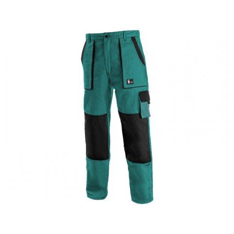 Pánske zimné nohavice CXS LUXY JAKUB, zeleno-čierne