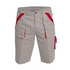 MAX šortky, sivo-červené