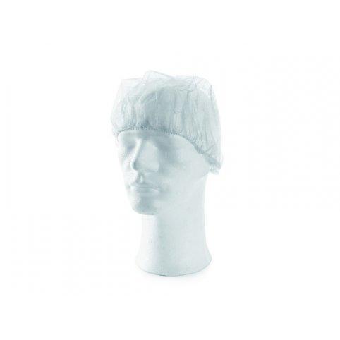 Jednorázová čiapka MAGDA, biela