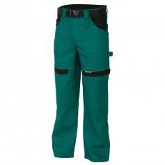 Predĺžené nohavice COOL TREND, zeleno-čierne