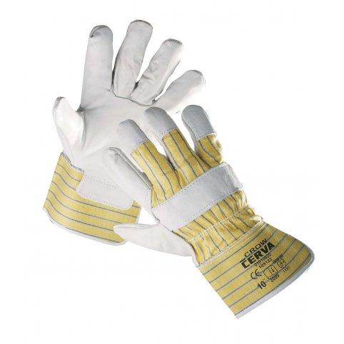 Kombinované rukavice CROW