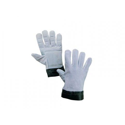 Antivibračné rukavice TEMA, celokožené, veľ. 10