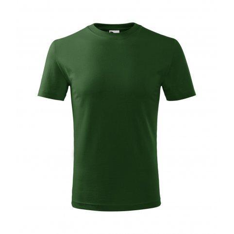 Detské tričko s krátkym rukávom CLASSIC NEW, fľaškovo-zelené