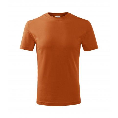 Detské tričko s krátkym rukávom CLASSIC NEW. oranžové