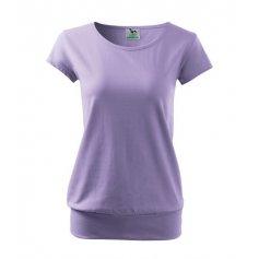Dámske tričko s krátkym rukávom CITY, fialové