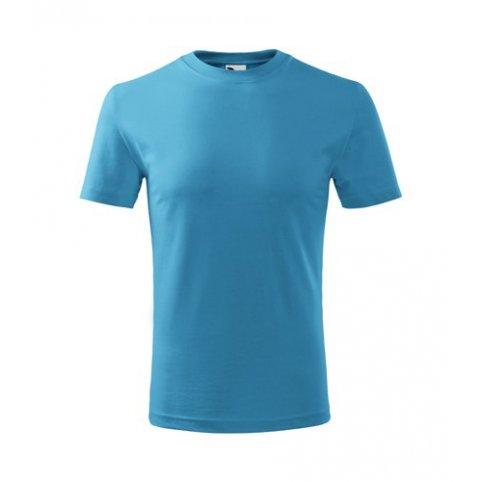 Detské tričko s krátkym rukávom CLASSIC NEW, tyrkysové