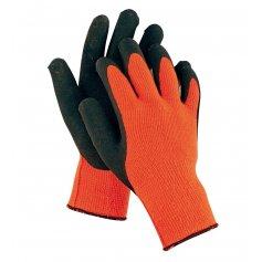 Rukavice PALAWAN ORANGE, pletené, oranžové
