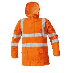 Reflexný komplet do dažďa SIRET SET HV, oranžový