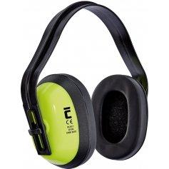Mušľové chrániče sluchu CIRON BASIC, reflexné-žlté