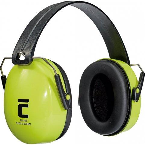 Mušľové chrániče sluchu CIRON ADVANCED, reflexné-žlté