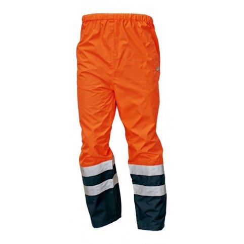 Reflexné nepremokavé nohavice EPPING NEW, oranžové