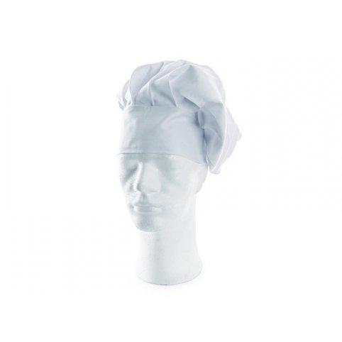 Kuchársky baret LUDVA, biely