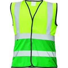 Reflexná vesta LYNX DUO, žlto-zelená