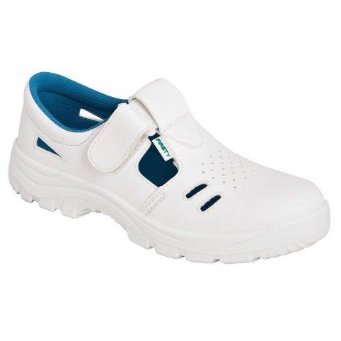 Sandále bez oceľovej špice VOG O1, biele