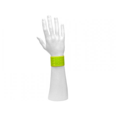 Reflexný pásik CLIP, žltý