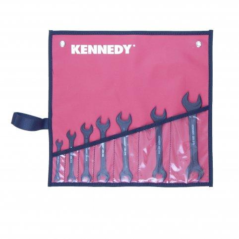 Sada vidlicových kľúčov, 7 dielna 6-24 mm, KENNEDY